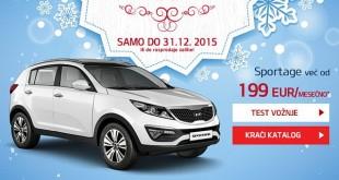 Velika novogodišnja akcija Kia Motorsa