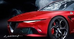 Da li bi ovako mogao da izgleda novi Alfa Romeo kupe?