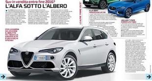 Da li će ovako izgledati Alfa Romeo SUV?