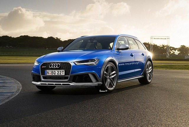 Ovako bi mogao da izgleda Audi RS6 Allroad