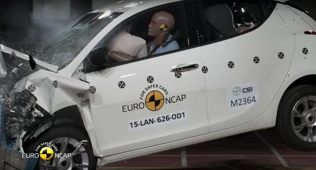Lancia Ypsilon i BMW Z4 podbacili na EuroNCAP testu