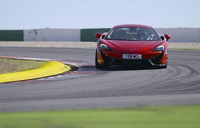 McLaren 570S promotivni video