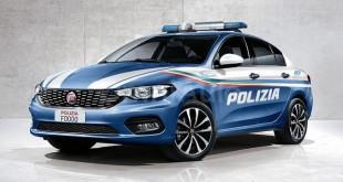 Novi Fiat Tipo odlično izgleda u policijskim bojama
