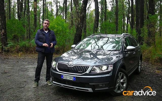 Test: Škoda Octavia Scout 2016