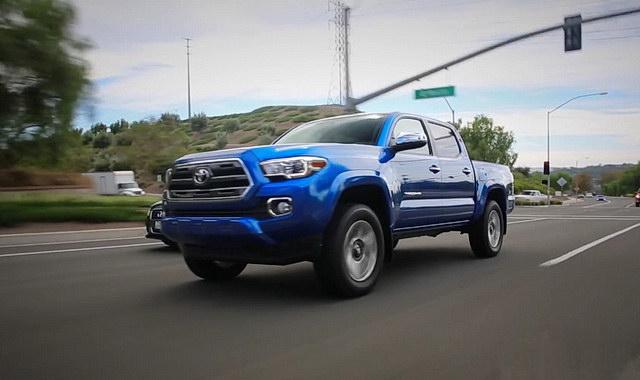 Test: Toyota Tacoma 2016