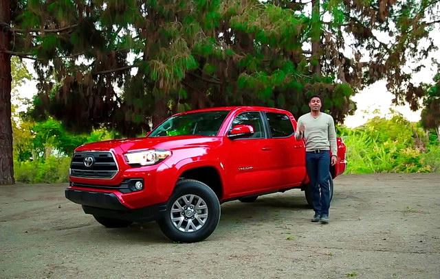 Pet razloga za Toyota Tacoma pikap