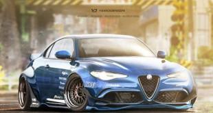Alfa Romeo Giulia Coupe bi mogao ovako da izgleda
