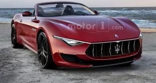Ovo bi mogao da bude Maserati Alfieri Cabrio
