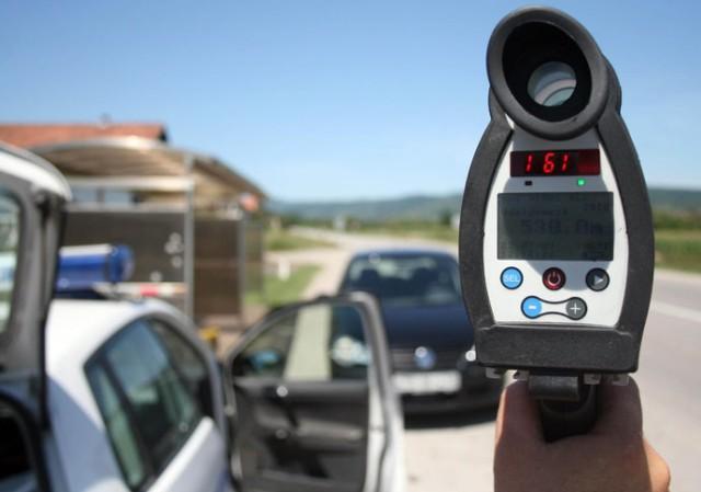 Saobraćajna policija - Pojačana kontrola brzine naredne nedelje