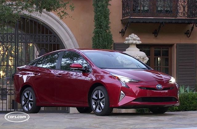 Test: Toyota Prius 2016