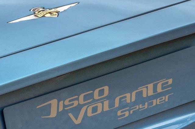 Alfa Romeo Disco Volante Spyder na sajmu u Ženevi