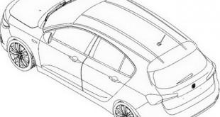 Patentni crtež Fiat Tipo hečbek verzije