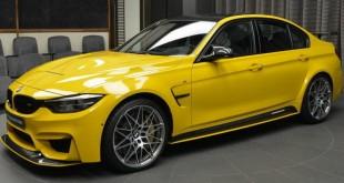 BMW-M3-Speed-Yellow-1