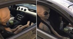 Policija uhvatila vanzemaljca