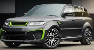 Project Kahn Range Rover Sport Supercharged SVR