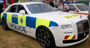 Rolls Royce Ghost Black Badge Police