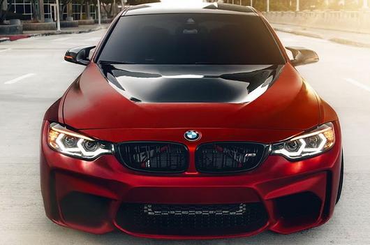 BMW-M3-Satin-Red-2