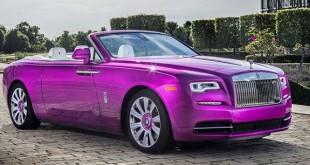 Rolls Royce Dawn Fuxia