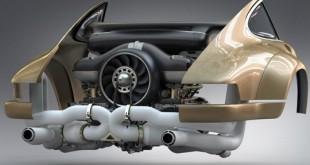 Singer motor Porsche
