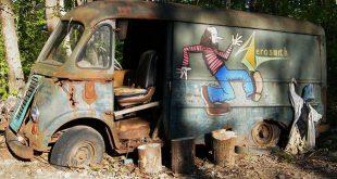 "Prvi touring van grupe ""Aerosmith"" pronađen u šumama Masačusetsa"