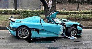 Slupao 1,4 miliona dolara vredan Koenigsegg CCXR STAR MESEC DANA