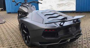 Hoss Boss motocikl sa zadnjim delom inspirisanim Lamborghinijem