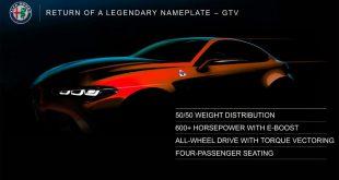 Procurele slike rendera nove Alfa Romeo GTV