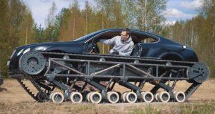 Napravio tenk od Bentley Continental GT-a
