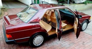 Na prodaju Mercedes 190E iz 1986. godine sa pređenih čitavih 462 km