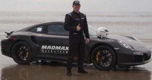 Vozio plažom 332 km/h u Porscheu i ušao u knjige rekorda