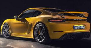 Sada i zvanično Porsche 718 Spyder i 718 Cayman GT4
