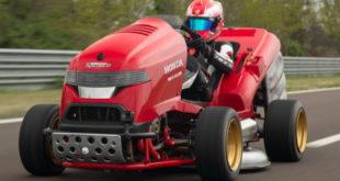 (VIDEO) Honda Mean Mower V2 postavio Ginisov rekord za najbržu kosilicu od 0-100 milja na sat