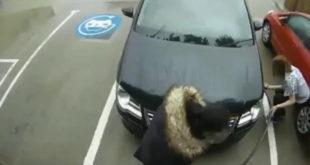 (VIDEO) Htela da dopumpa gume na punjaču za električna vozila