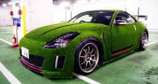 Bez komentara: Modifikovani Nissan 350Z prekriven veštačkom travom